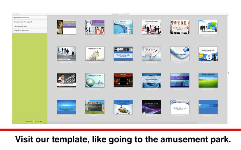 Templates for Word PPT for Mac