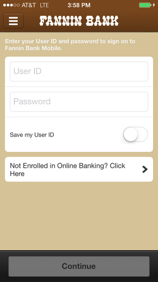 Fannin Bank Mobile Banking