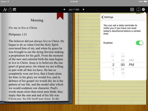 Spurgeon Devotional iPad Screenshot 3