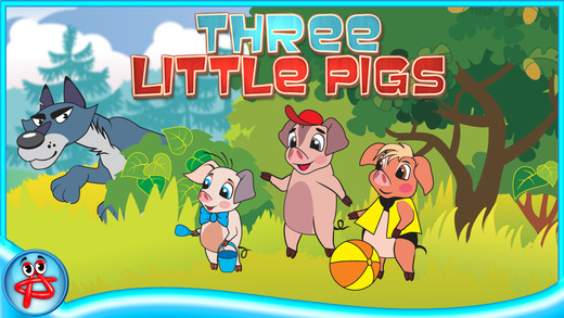 Three Little Pigs: Interactive Touch Book