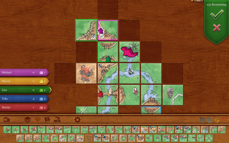 Carcassonne Screenshot - 2