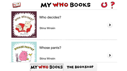 Who … – Picture books for the very young. Read look listen
