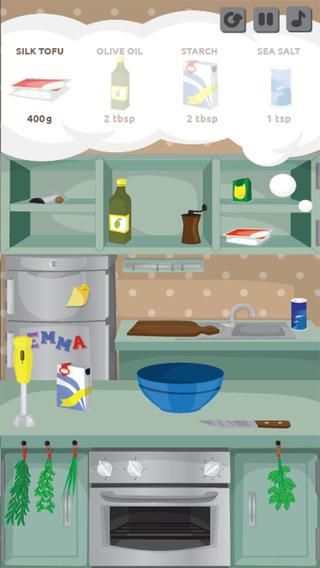 Tomato Quiche-Cooking Game