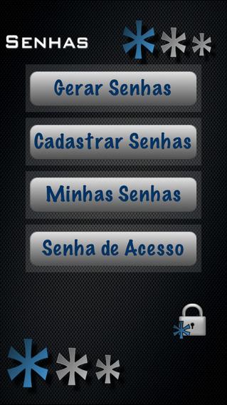 Senhas iPhone Screenshot 1