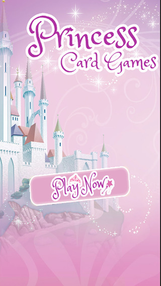 Kids Card Game For Princess Edition