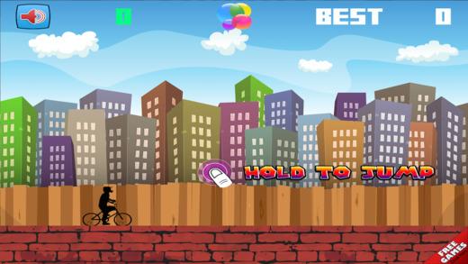Jumpy BMX - Cool Bike Rider Jump Skill