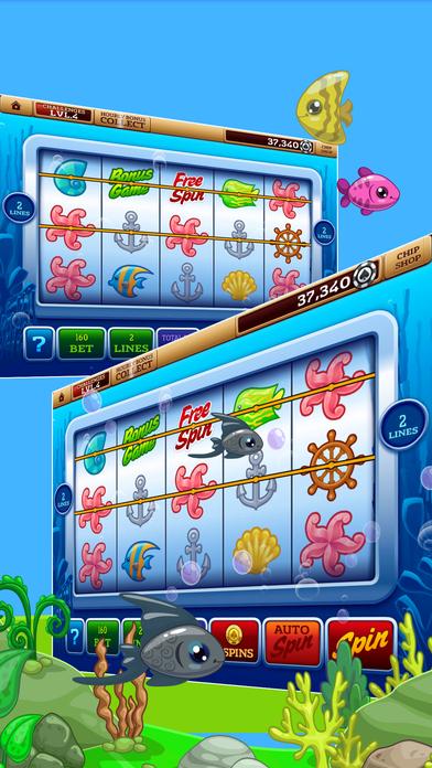 Screenshot 2 Алмазные Фэнтези Игровые автоматы — горные источники Казино — Простой, классические джекпоты и бонусные игры!