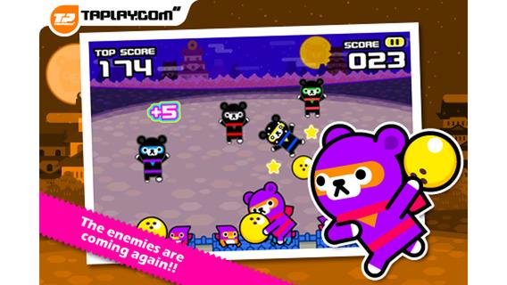 忍者保龄球:Bowling Ninja – Tappi Bear