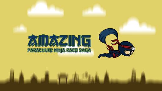 Amazing Parachute Ninja Race Saga