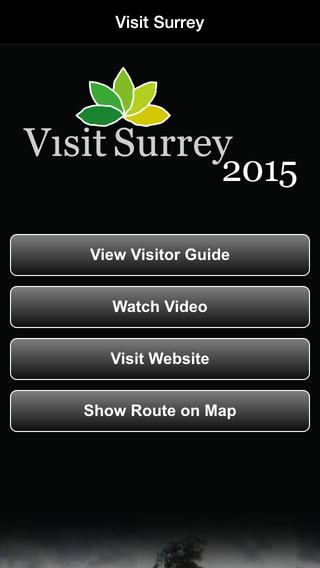 Visit Surrey Official Guide