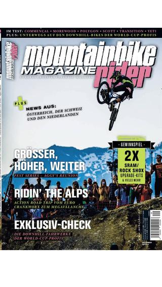 MTB mountainbike rider - epaper