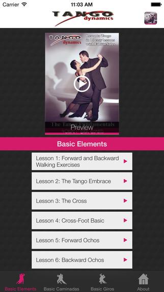 Tango Dynamics - The Tango Fundamentals