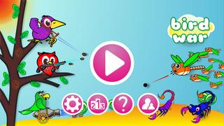 Screenshot 4 Bird War: Matching three game