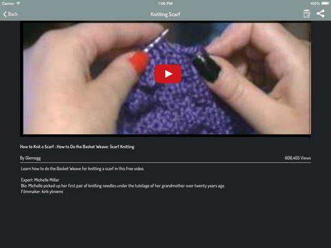 ?????APP?How To Knit Pro+ - Learn How To Knit and Discover New knitting Patte...