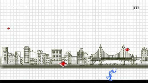 Action Stumble Sketchman - Escape From The Falling Balls Free