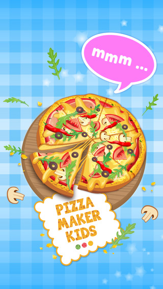 Pizza Maker Kids Ads Free - Italian Food Cooking Game