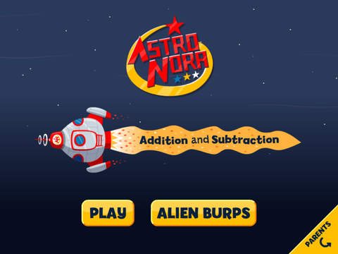 Astro Nora: Addition Subtraction maths for 4-7 year olds