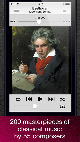 Masterpieces of classical music.