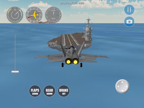 F18 Flight Simulator для iPad