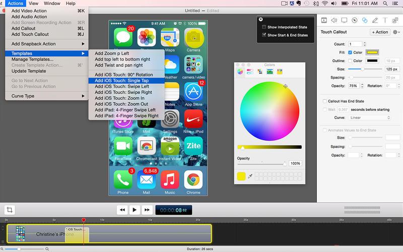 ScreenFlow Screenshot - 3