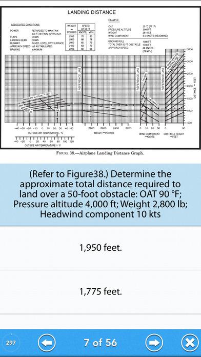 Pilot Test - Recreational Pilot Airplane (RPA) iPhone Screenshot 3