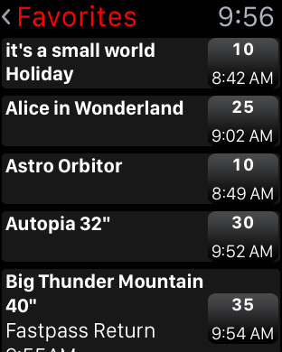 Disneyland MouseWait Social Wait Times FREE iPhone Screenshot 9