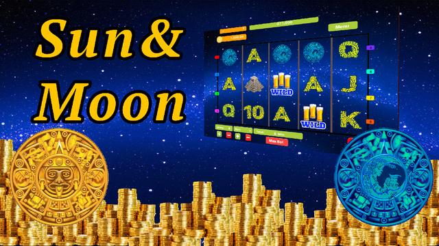 Maya Sun and Moon Fruit Poker Machine Slot in Lucky Jackpot Casino