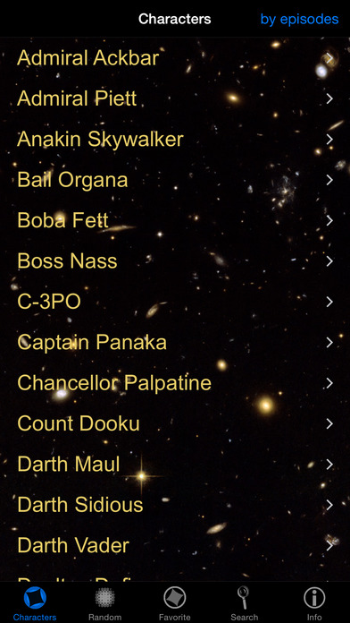 Star Wars Quotes iPhone Screenshot 2
