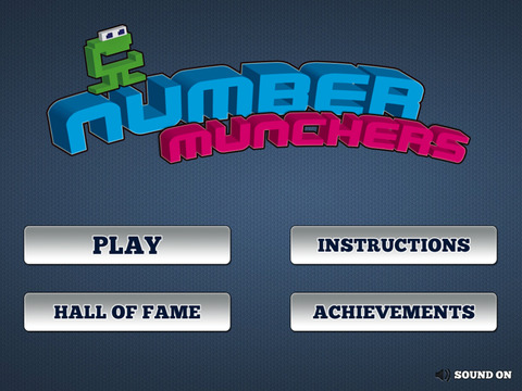 Number Munchers iPad Screenshot 1