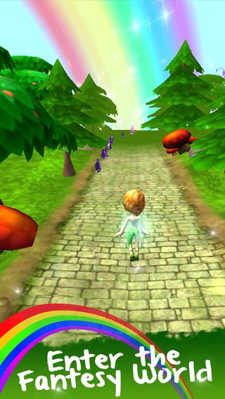 Princess Games Fairy-Tales Kids Adventure Run - Fun Girly Girls Games Free