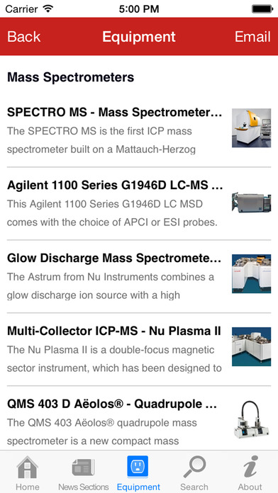 AZoMaterials -The A to Z of Materials from AZoM.com iPhone Screenshot 4