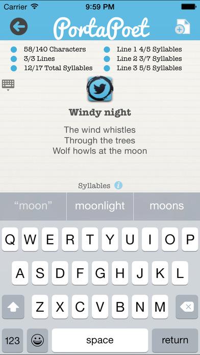 PortaPoet iPhone Screenshot 5