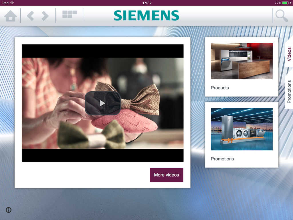 App shopper siemens home appliances me catalogue catalogs - Catalogus gaggenau ...