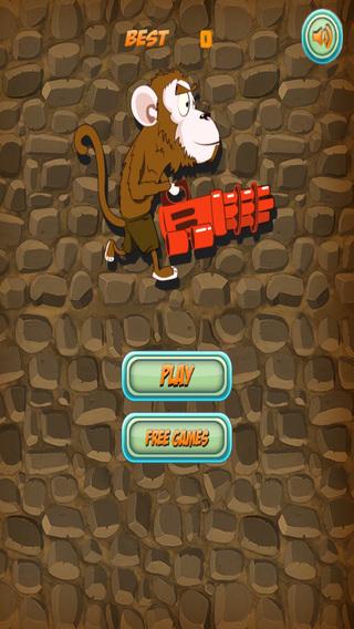 Monkey Fighting Dinosaurs - Beast Battle Defense - Premium