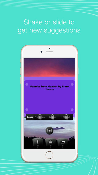 Carefree Song Suggestor – Shake for the perfect song