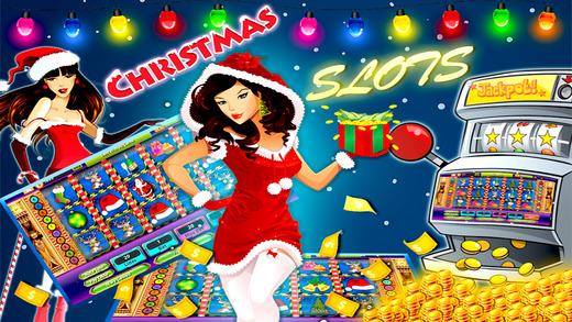 Pharaoh Slots Big Win Jackpot Casino Slot Machine Game Christmas Santa Free Gold Coins make me rich