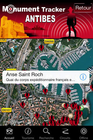 Antibes Monument Tracker screenshot 4