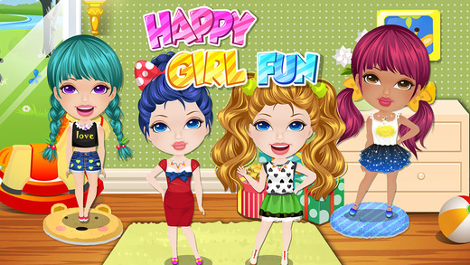 Girls Party Salon - BFF Fashion Makeover