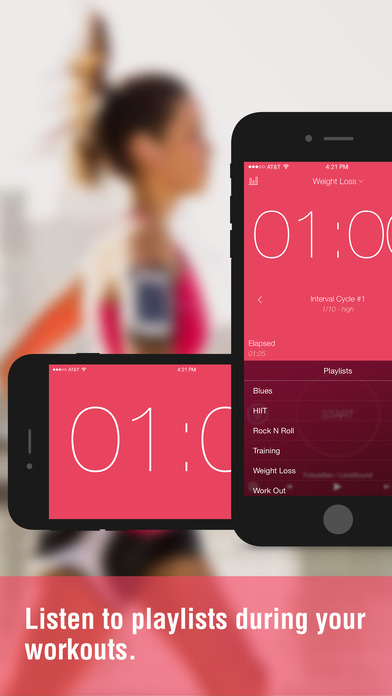 Interval Timer Pro iPhone Screenshot 4
