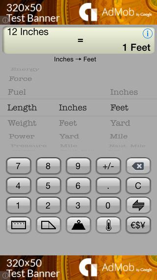 Classic Converter Free iPhone Screenshot 1