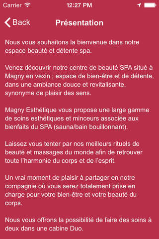 Magny Esthetique screenshot 2