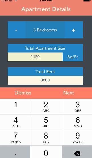 Roommate Rent Calculator