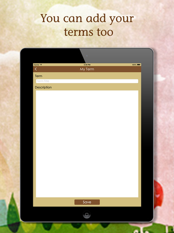 Art Terms Screenshot