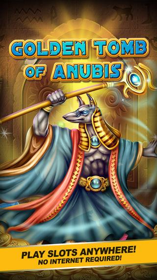 Slots Golden Tomb of Anubis HD - VIP Lounge 777 Pokie Machine Game