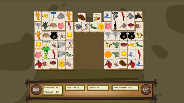 Mahjong Solitaire Ten boards