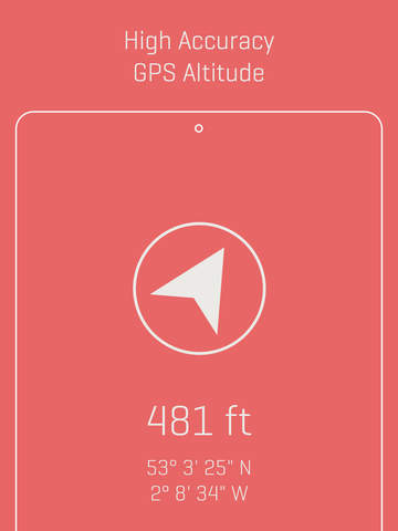 Alti - Minimalist Travel Altimeter & Compass Screenshots