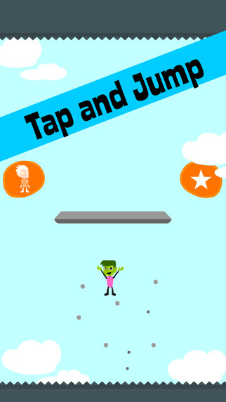 Tap And Jump For: Teen Titans Version