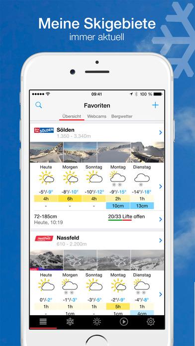 bergfex/Ski iPhone Screenshot 2