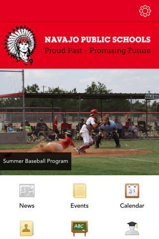 Navajo Public Schools screenshot 1