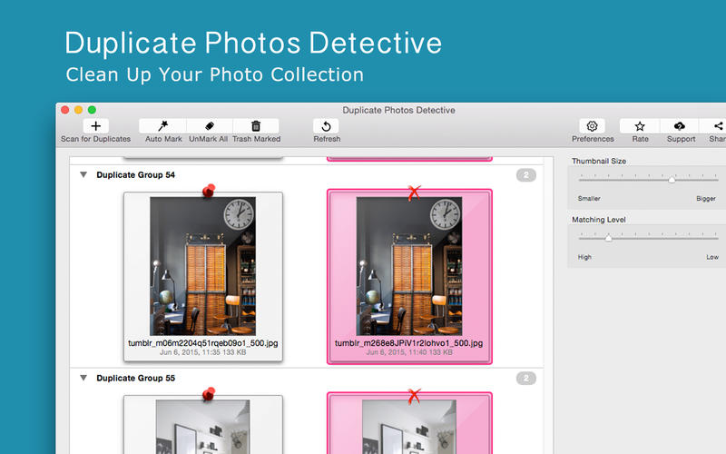 Duplicate Photos Detective Screenshots